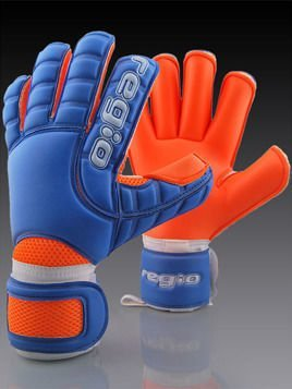 Goalkeeper gloves Regio GIGA GRIP ROLL BLUE/ORANGE