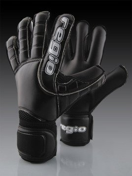 Regio goalkeeper gloves MEGA BLACK mixcut